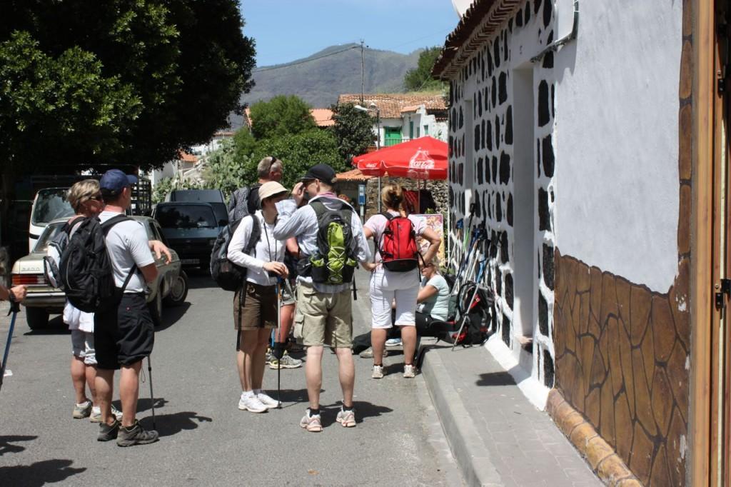 Konstigt nog avslutades vandringsdagarna alltid vid någon lokal pub!
