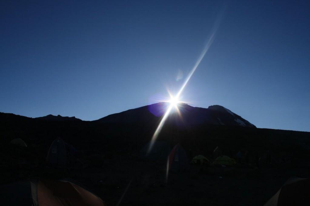 Soluppgång dagen D