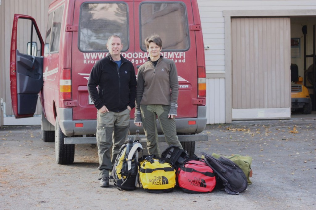 Packad och klar. 3.10.2012