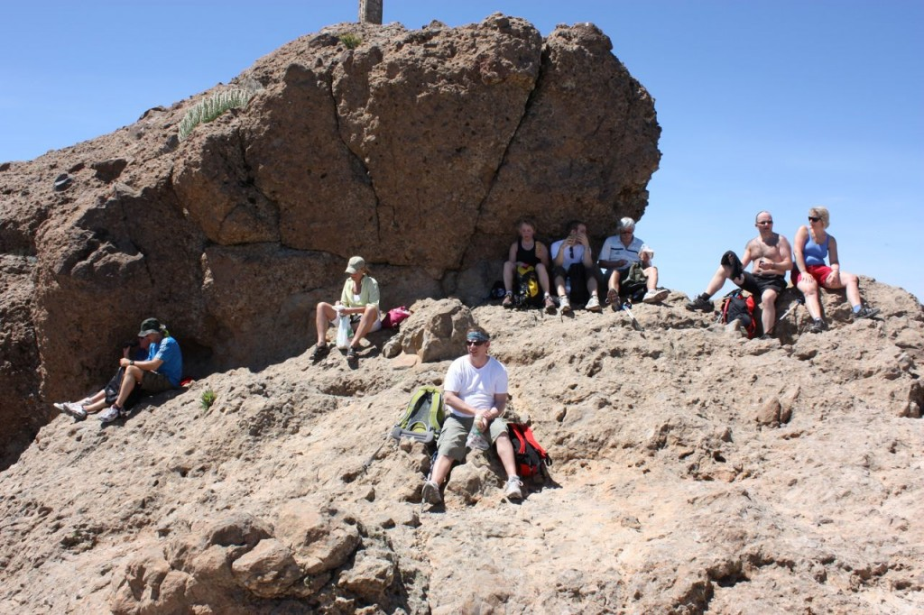 Pico de las nieves ... Snötoppen 1949 m.ö.h högsta toppen på Gran Canaria.